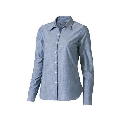 Рубашка Lucky женская, джинс