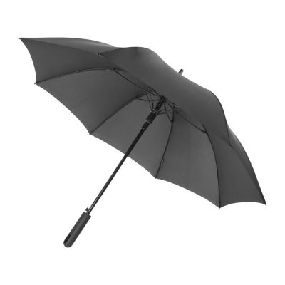 Противоштормовой зонт Noon 23 полуавтомат, черный