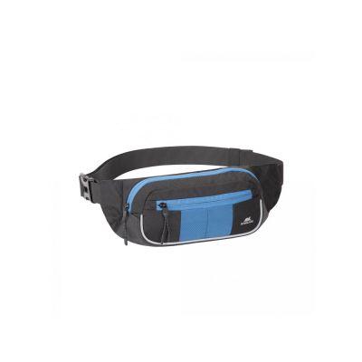 Поясная сумка для мобильных устройств, черный/синий