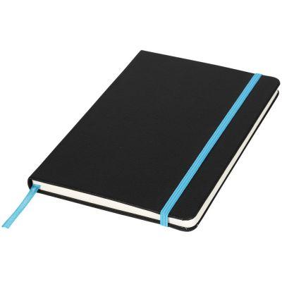 Блокнот А5 Lasercut, черный/синий
