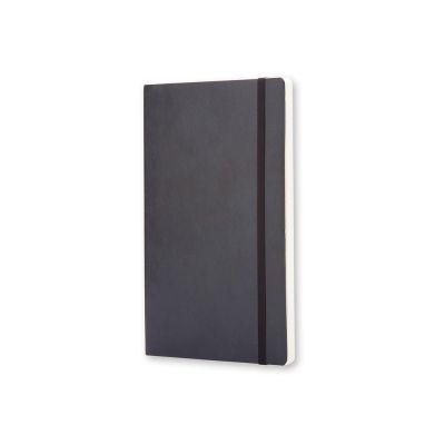Записная книжка Moleskine Classic Soft (нелинованный), Large (13х21см), черный