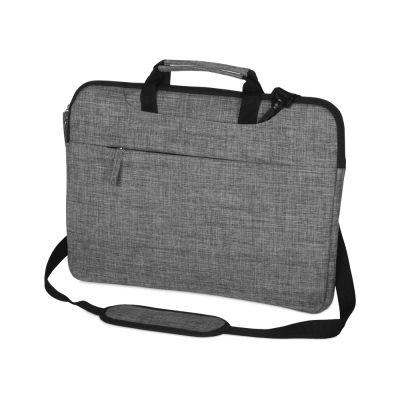 Сумка Plush c усиленной защитой ноутбука 15.6 '', серый