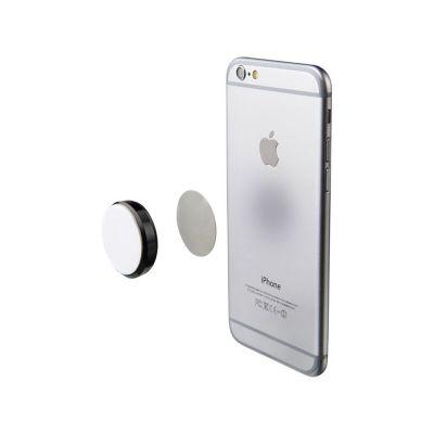 Магнит для телефона с клейкой подложкой, черный