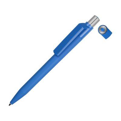 Ручка шариковая UMA ON TOP SI GUM soft-touch, синий