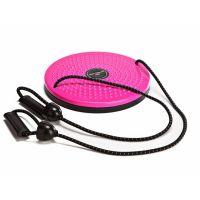 Диск вращающийся с эспандерами Grace Pro, розовый/черный