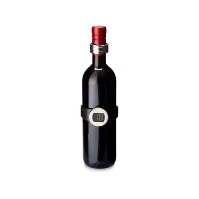 Набор для вина цифровой из двух предметов, черный