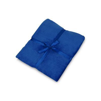 Плед флисовый Natty из переработанного пластика, синий