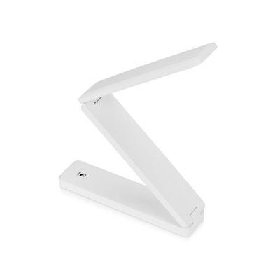 Складывающаяся настольная LED лампа Stack, белый