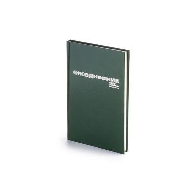 Ежедневник А5 недатированный Бумвинил, зеленый