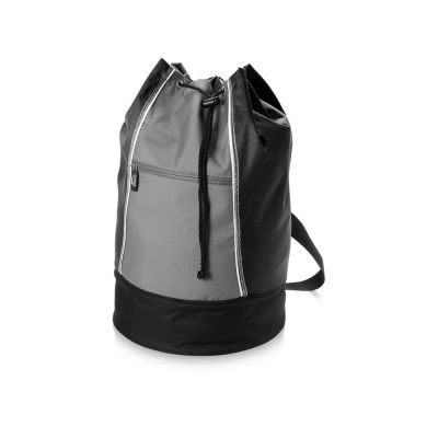 Сумка-мешок Brisbane, черный/серый