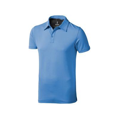 Рубашка поло Markham мужская, голубой/антрацит
