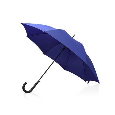 Зонт-трость полуавтомат Алтуна, темно-синий