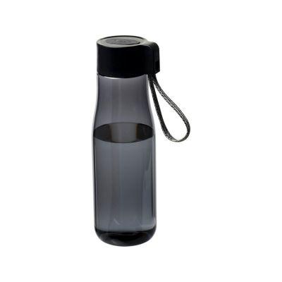 Спортивная бутылка Ara 640мл от Tritan™ с зарядным кабелем, smoked