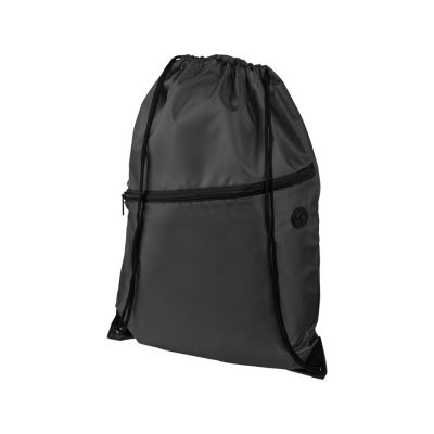 Рюкзак Oriole на молнии со шнурком, черный