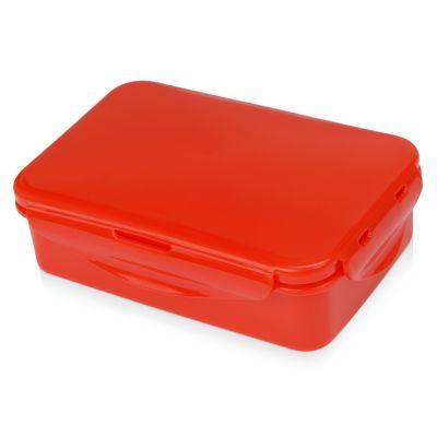 Герметичный ланч-бокс Foody с двумя секциями, 650мл, красный