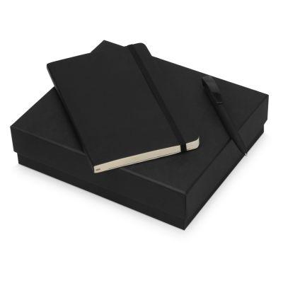 Подарочный набор Moleskine Amelie с блокнотом А5 Soft и ручкой, черный