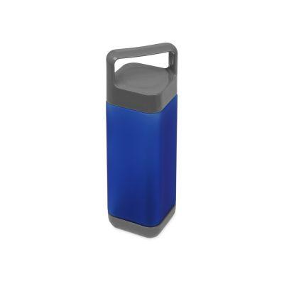 Бутылка для воды Balk 650 мл soft-touch, синий