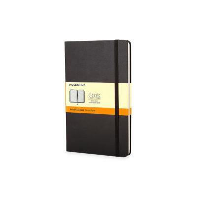 Записная книжка Moleskine Classic (в линейку) в твердой обложке, Pocket (9x14см), черный