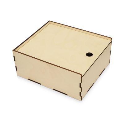 Деревянная подарочная коробка-пенал, размер L