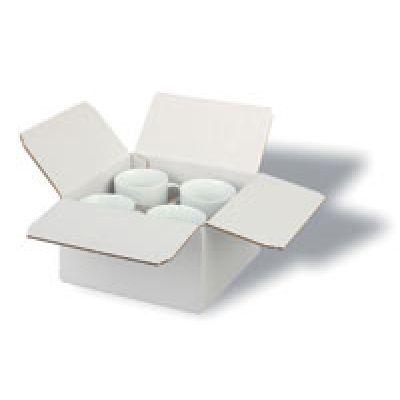 P4 упаковка для 4 предметов, белая