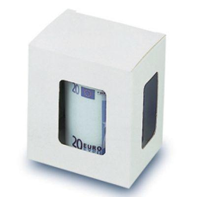 P1B одноместная упаковка, белая, с окном