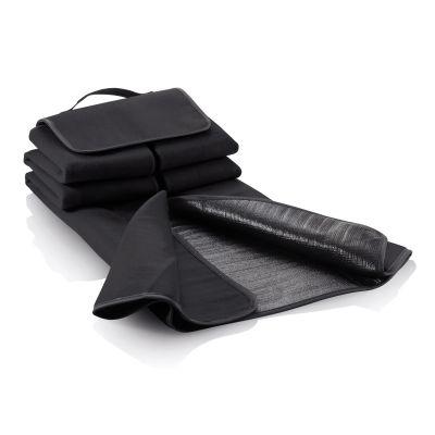 Плед для пикника, черный