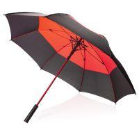 Автоматический двухцветный зонт-антишторм 27