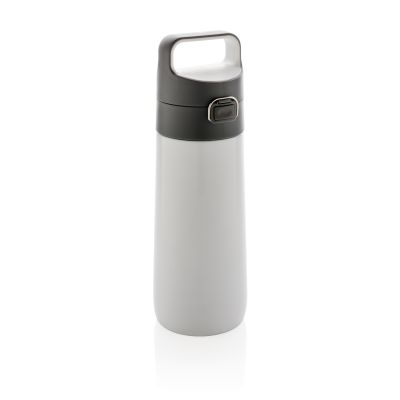 Герметичная вакуумная бутылка для воды Hydrate, белый