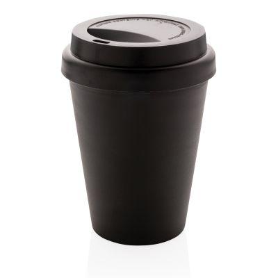 Многоразовый стакан для кофе с двойными стенками, 300 мл