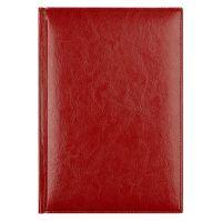 Eжедневник недатированный Birmingham 145х205 мм, без календаря, красный