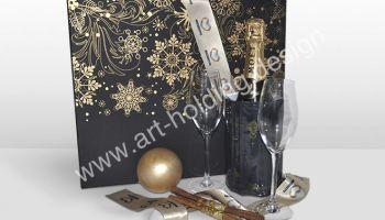 Подарочный набор «Пусть искрится вино!»