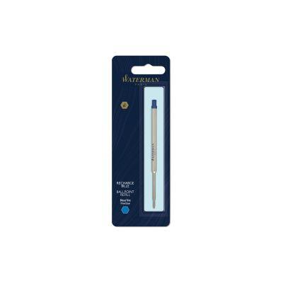 Стержень стандартный для шариковой ручки Waterman F, цвет: синий