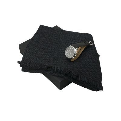 Подарочный набор Celso: шарф, хроногаф. Ungaro