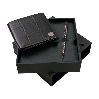 Набор Ungaro: портмоне, ручка шариковая