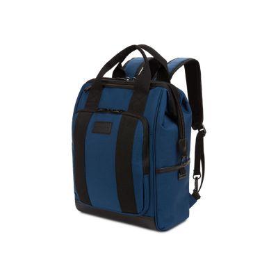 Рюкзак SWISSGEAR 16,5 Doctor Bags, синий/черный, полиэстер 900D/ПВХ, 29 x 17 x 41 см, 20 л