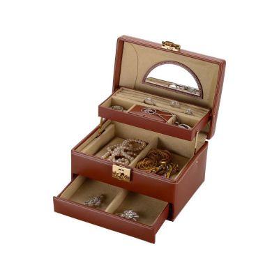 Шкатулка для драгоценностей Champ, коричневый
