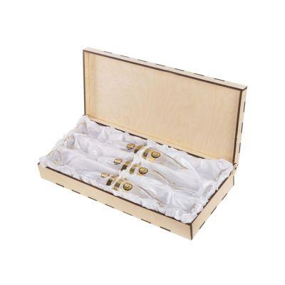 Набор бокалов для шампанского Сила льва