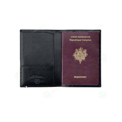 Обложка для паспорта Contraste. S.T. Dupont, черный