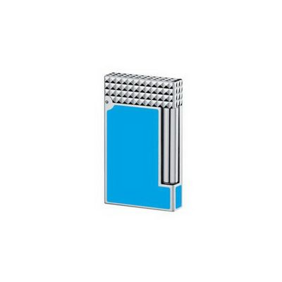 Зажигалка LigneD. S.T.Dupont, бирюзовый/серебристый