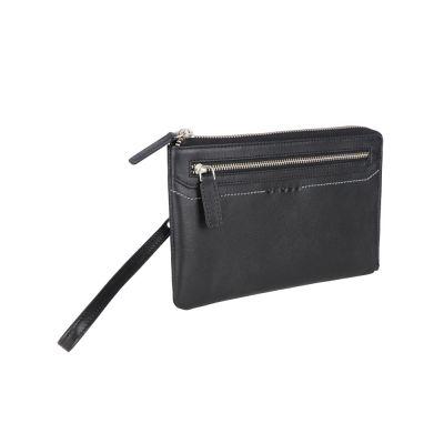 Кошелёк-барсетка Cross Classics Black, кожа наппа, гладкая, черный,  21 х 13 х 1 см