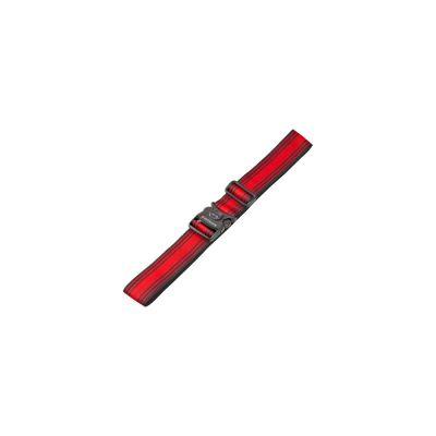 Ремень багажный WENGER, черный/красный, полиэстер, 101,5 x 1,4 x 5 см
