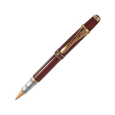 Набор Duke Министр:ручка-роллер на подставке в виде полумесяца, черный/золотистый