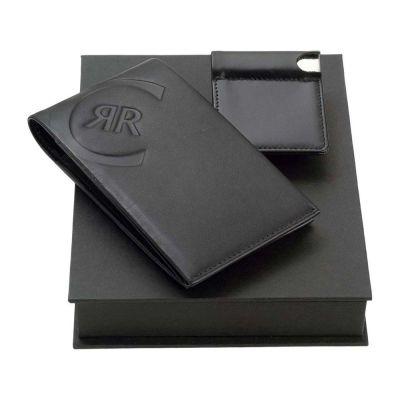 Набор Cerruti 1881: портмоне, визитница с флеш-картой USB 2.0 на 4 Гб