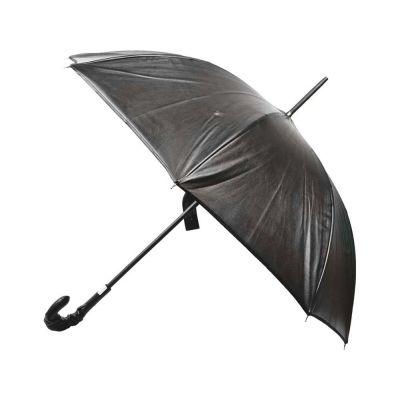 Зонт-трость кожаный Jean-Paul Gaultier, механика