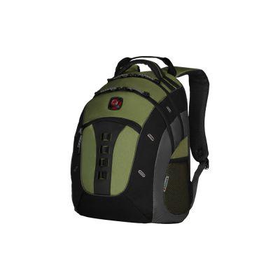 Рюкзак Granite WENGER 16, зеленый, полиэстер, 38 x 25 x 49 см, 27 л